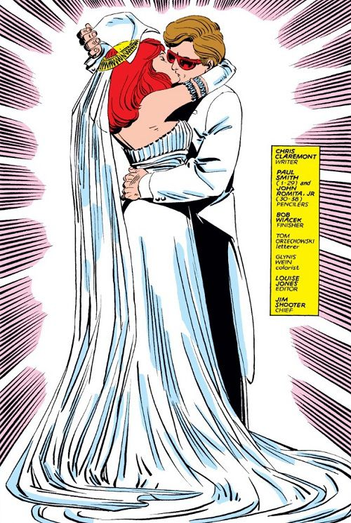 Uncanny X-Men #175 Cyclops Madelyne wedding