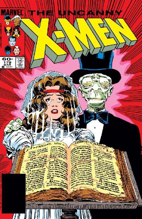 Uncanny X-Men #179 comic book cover