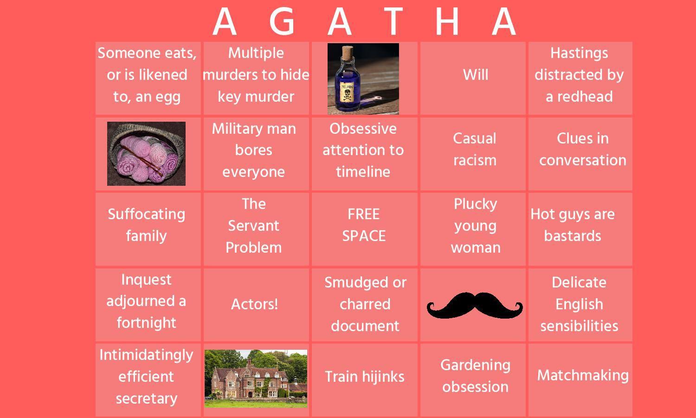 Agatha Christie Bingo
