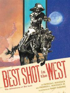 cover of best shot in the west by patricia mckissip