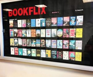 Bookflix Library Displays Are A Wonderful Thing