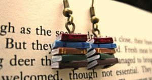 bookish etsy earrings feature
