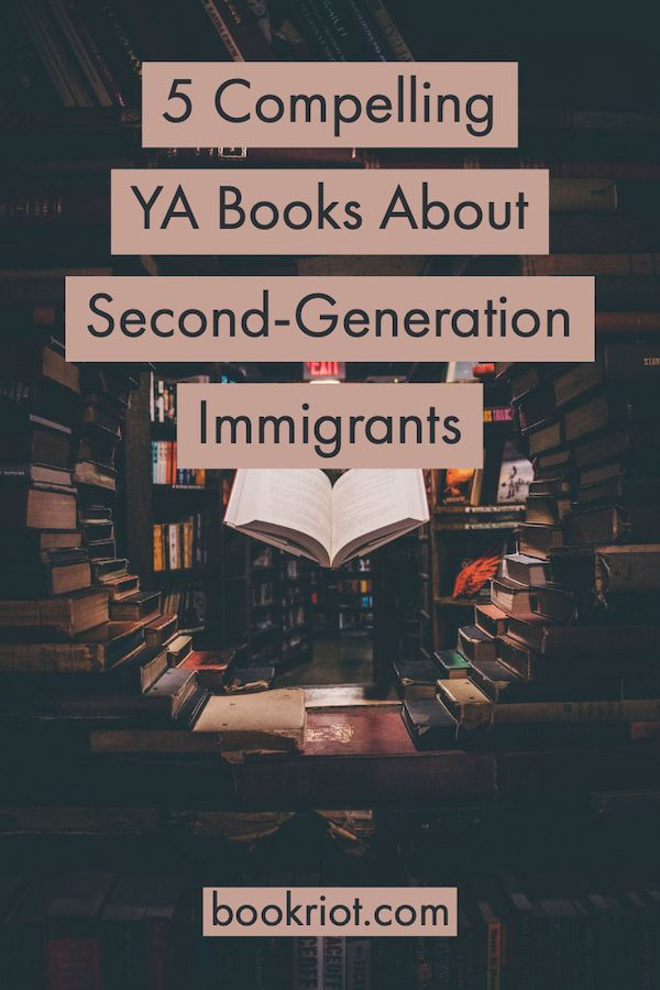 YA Books About Second-Generation Immigrants