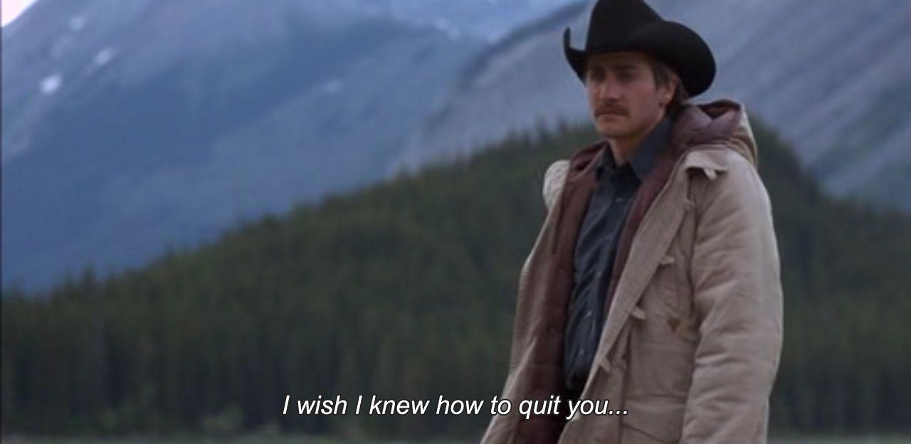 Brokeback mountain annie prouxl love quotes dari buku. Seandainya saya tahu cara keluar dari Anda