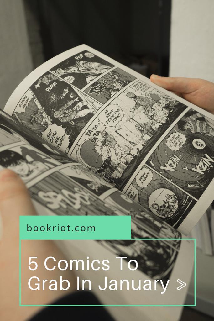Plop these comics onto your January 2019 TBR. comics | comic books | comic books to read | upcoming comic books