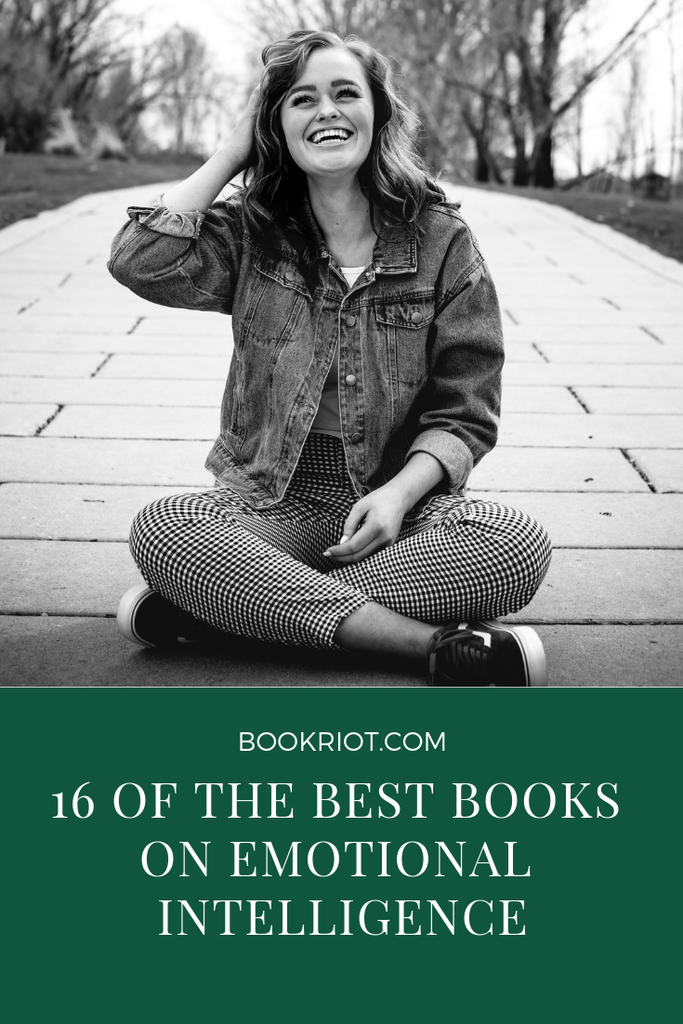 16 of the best books on emotional intelligence. book lists | psychology books | books about emotional intelligence | emotional intelligence | books to read | nonfiction books