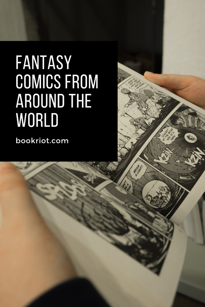 Excellent fantasy comics and graphic novels from around the world. comics | graphic novels | book lists | comics to read | graphic novels to read | fantasy comics