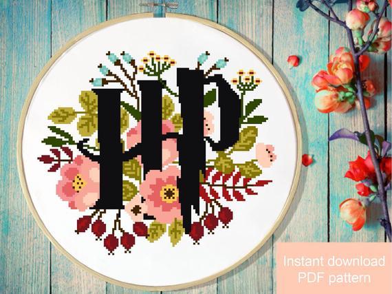 Harry Potter Cross Stitch Patterns You'll Be Making ASAP