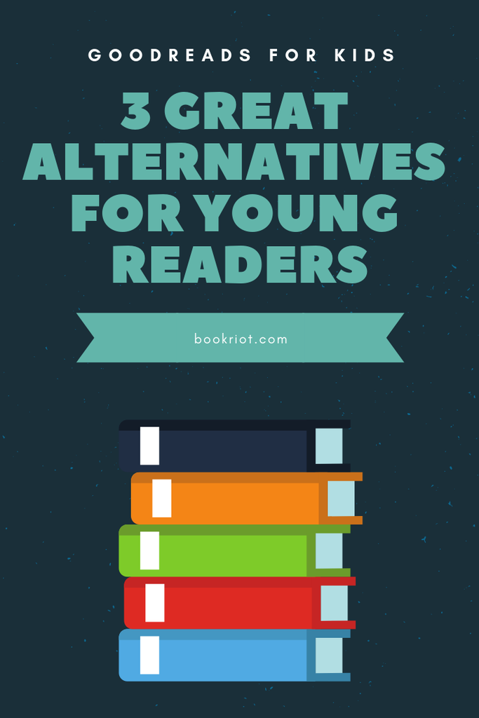 It's not easy to set up Goodreads for kids, but there are 3 great sites perfect for the young bibliophiles in your life. goodreads | goodreads for kids | book tracking for young readers