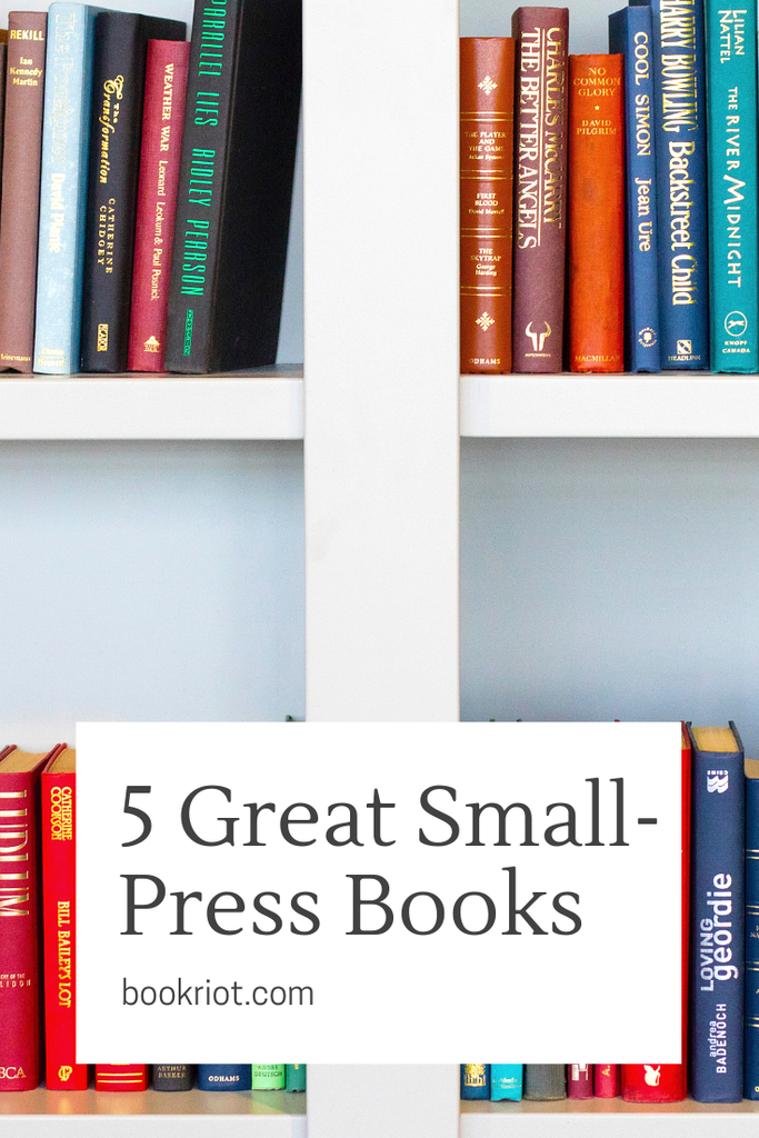 5 awesome small-press books you'll want to add to your TBR. small press books | small press books to read | book lists