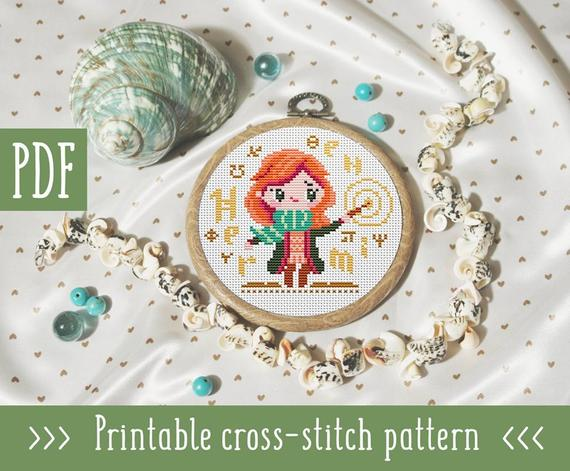 Free Printable Christmas Ornament Cross Stitch Patterns.Harry Potter Cross Stitch Patterns You Ll Be Making Asap