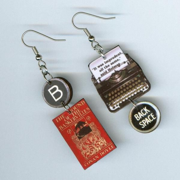 Hound of the Baskervilles Earrings