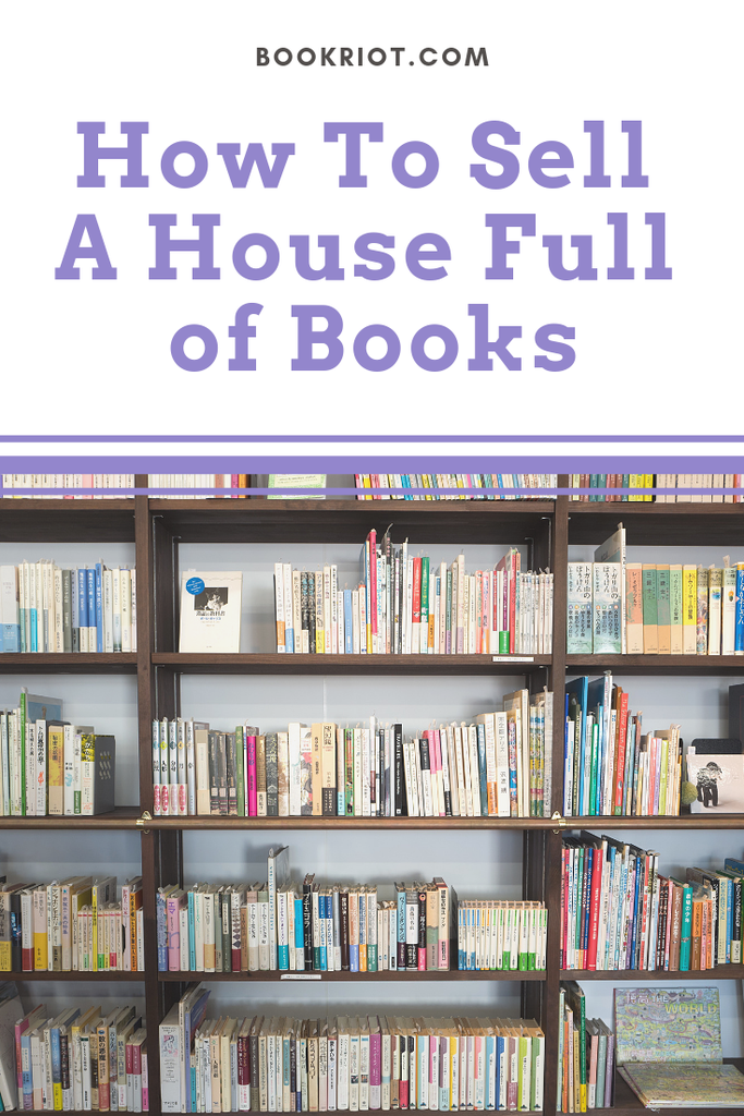 Reader Problems: how do you sell a house full of books? We can help you out! selling a house | how to sell a house | staging a house