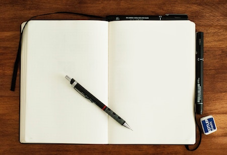 What to do with Blank Notebooks