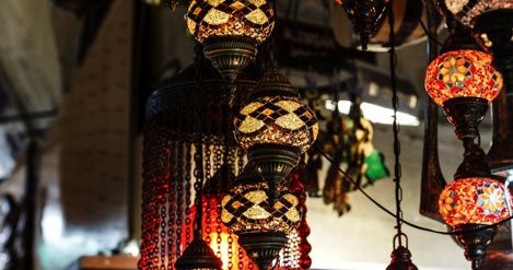 lanterns in istanbul turkey