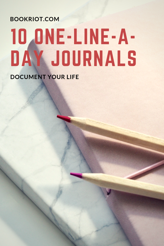 10 one-line-a-day journals to document your life. journals | daily journals | daily journaling | writing | writing practice | awesome journals