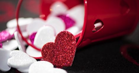 love hearts valentine's day feature