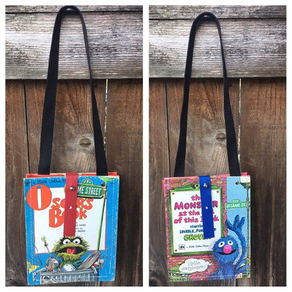 Bookish Sesame Street: Golden Book Handbags