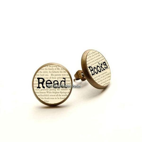 Read Books Earrings