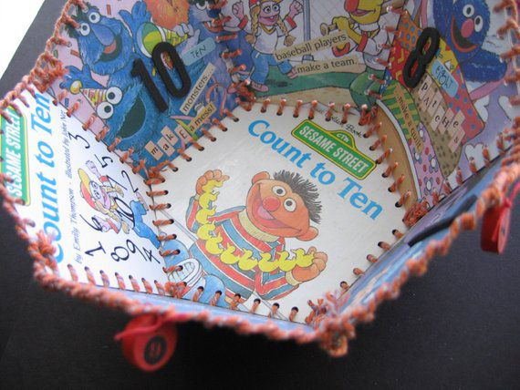 Bookish Sesame Street: Little Golden Book Basket