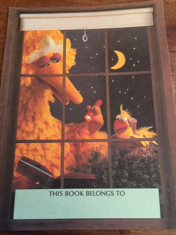 Bookish Sesame Street: Sesame Street Book Plates