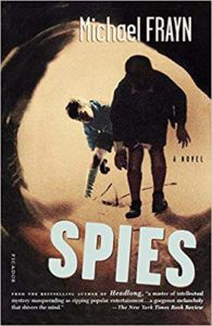 Spies by Michael Frayn book cover