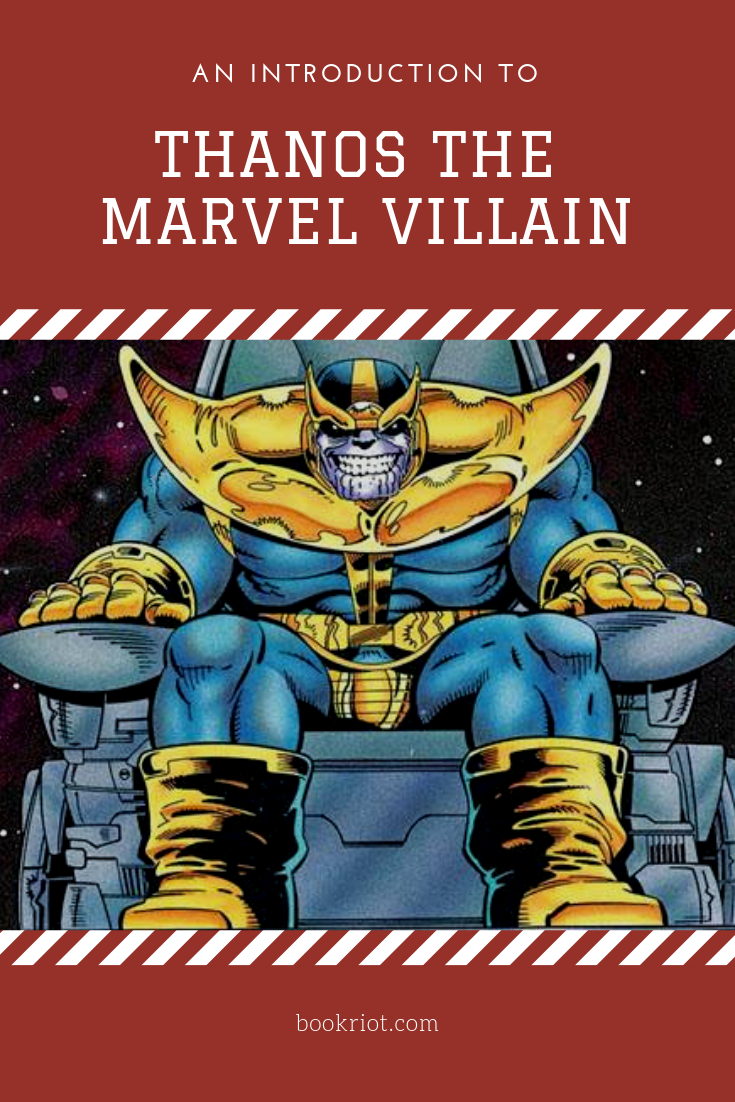Get to know the story behind Thanos, the Marvel Villain. Thanos | Marvel Comics | comic introductions