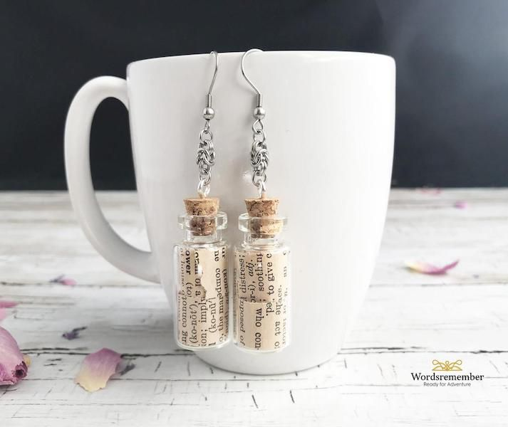 Upcycled Found Objects Earrings