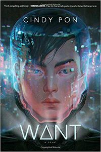 Want by Cindy Pon Book Cover