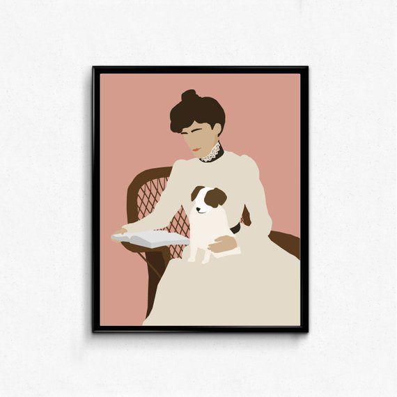 Edith Wharton print
