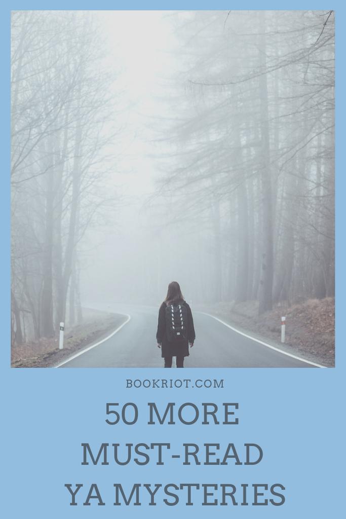 50 More Must-Read YA Mysteries