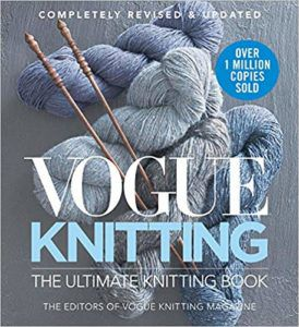 Vogue Knitting Book Cover