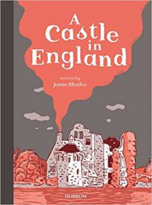 A Castle in England book cover
