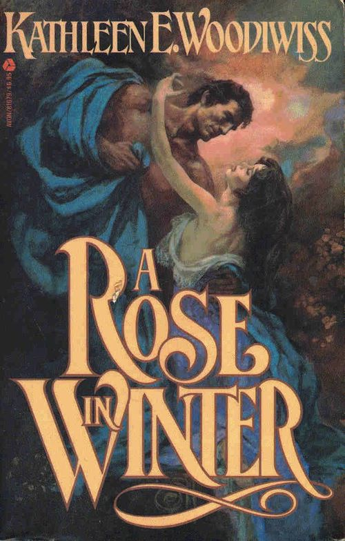 cover of A Rose in Winter by Kathleen E. Woodiwiss