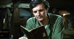 Alan Alda reading MASH memoirs feature