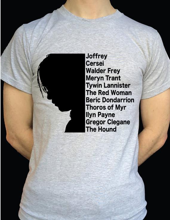 Arya Stark's Kill List Tee