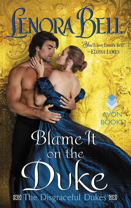 cover of Blame It on the Duke by Lenora Bell