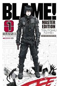 Blame volume 1 cover by Tsutomu Nihei