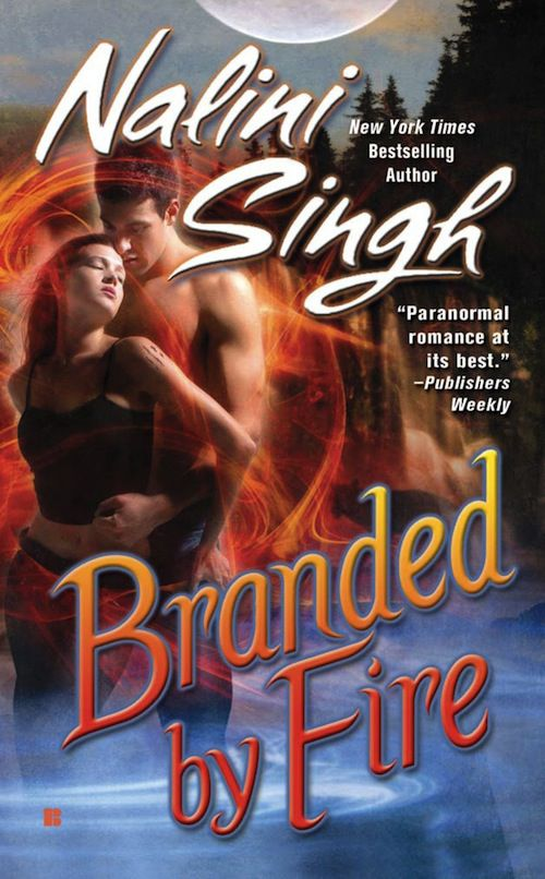 cover of Branded by Fire by Nalini Singh