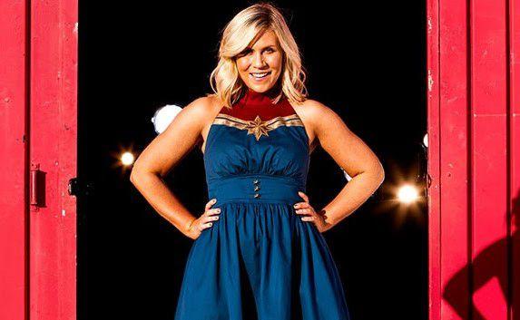 Captain Marvel Dress
