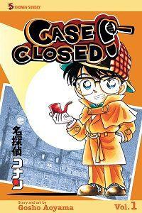 Case Closed volume 1 cover - Gosho Aoyama
