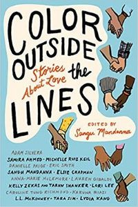 Color Outside the Lines Anthology Book Cover