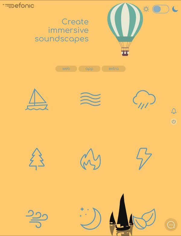 Defonic_Home_Page_Screen_Shot