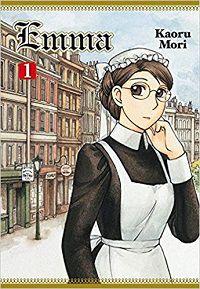 Emma volume 1 cover by Kaoru Mori