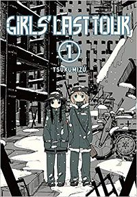 Girls Last Tour volume 1 cover by Tsukumizu