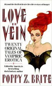 Love in Vein cover - Poppy Z Brite