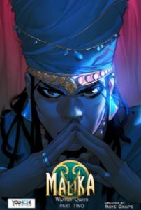 Malika Warrior Queen book cover
