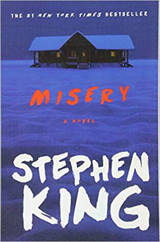 Misery by Stephen King book cover