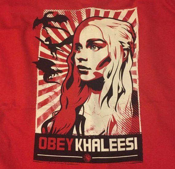 Obey Khaleesi Daenerys Targaryen Tee