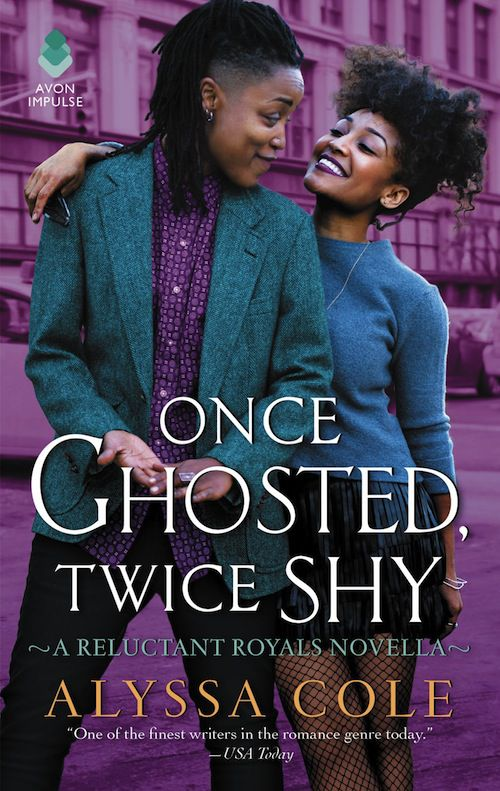 cover of Once Ghosted, Twice Shy by Alyssa Cole